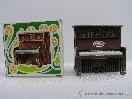 ANTIGUO SACAPUNTAS, AFILALAPIZ, MARCA: PLAYME REF.: 969 - PIANO -PENCIL SHARPENERS -NUEVO-(CON SU CA - Foto 1