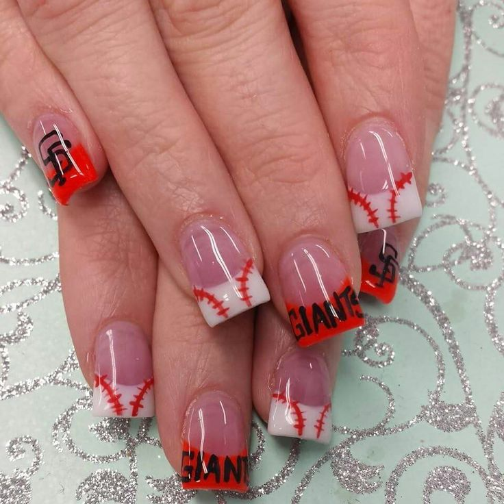 San Francisco Giants Nails
