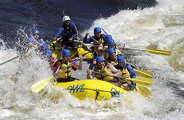 White Water Rafting at Ottawa River