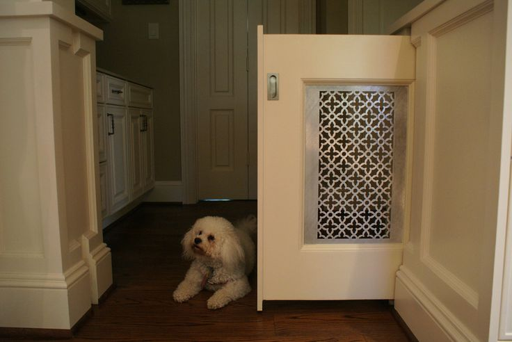Beautiful dog gates indoor in Kitchen Traditional with Sliding Gate next to Dog…