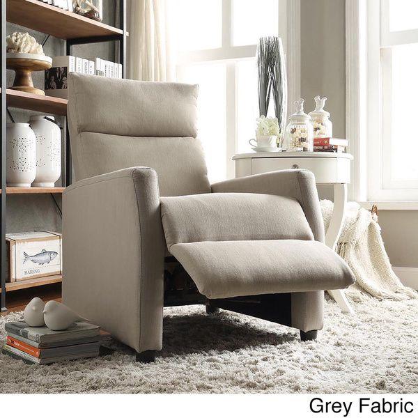 saipan modern recliner club chair
