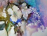 Aquarellblumen von Janet Whittle – Bing Vaizdai