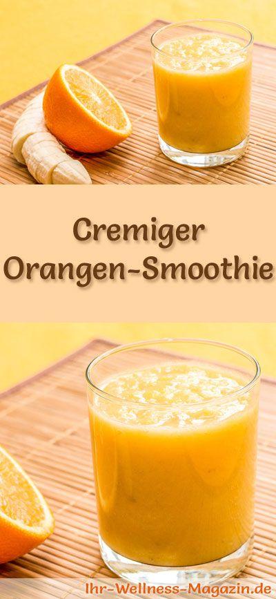 Orangen-Smoothie – gesundes Rezept zum Abnehmen
