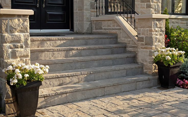 Carved Stone Steps : Best images about front step overlay on pinterest