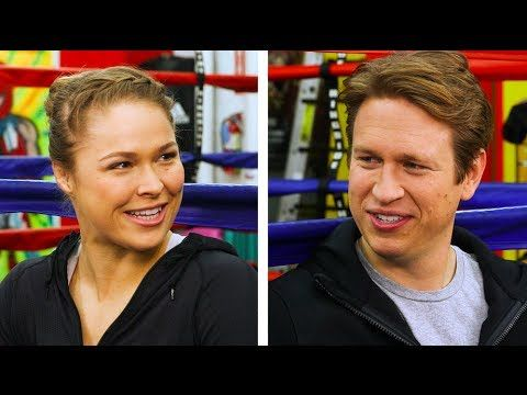 In The Ring With Ronda Rousey - YouTube