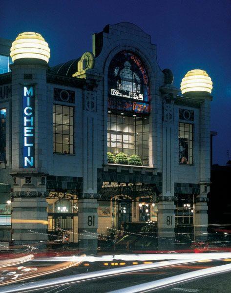 ex Michelin HQ in London, now Conran shop & restaurant