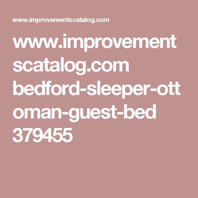 www.improvementscatalog.com bedford-sleeper-ottoman-guest-bed 379455