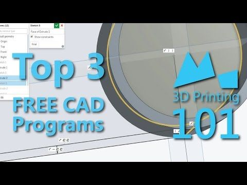 Top 3 FREE CAD for #3DPrinting « Adafruit Industries – Makers, hackers, artists, designers and engineers!