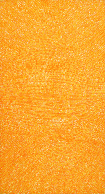 Available for sale from Gallery Hyundai, Whanki Kim, Untitled 04-VI-71 #205 (1971), Oil on cotton, 235 × 127 cm