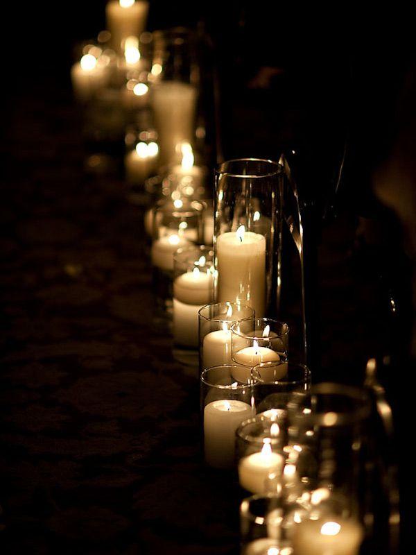 Un mariage dans la grange: A la lumière des bougies