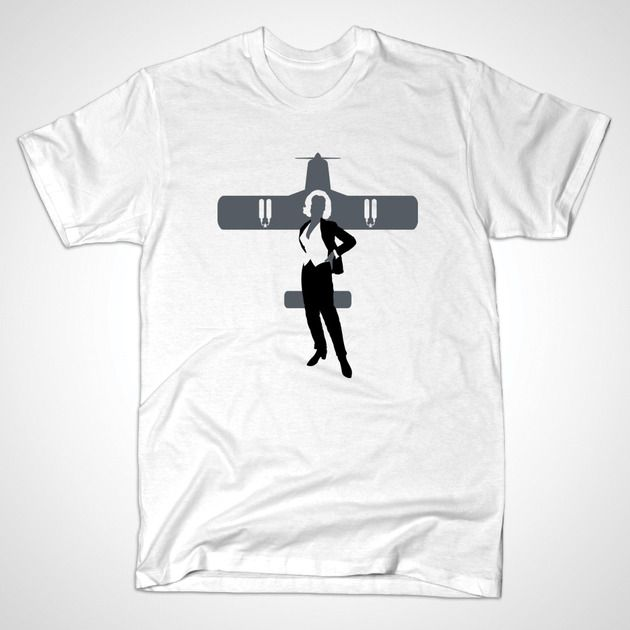 PUSSY GALORE T-shirt @ https://www.teepublic.com/show/12000-pussy-galore