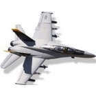 This large scale model of the F/A-18E Jolly Roger has been beautifully crafted using CAD and, this is evident in the realistic and high quality finish seen in this plane.This model has just the right amount of power; to get this jet taxiing and ready for take off.   Regards  helen  http://www.nitrotek.dk/rc-jetfly.html