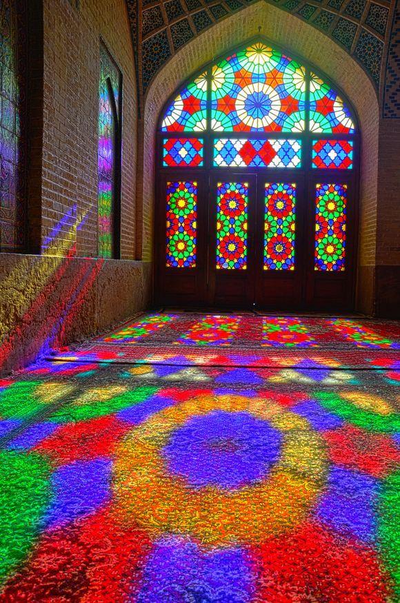 Nasir-al-mulk Mosque - Shiraz - IRAN Photo by: Ramin Rahmani Nejad Share and like this Photo on: http://yourshot.nationalgeographic.com/photos/2727043/