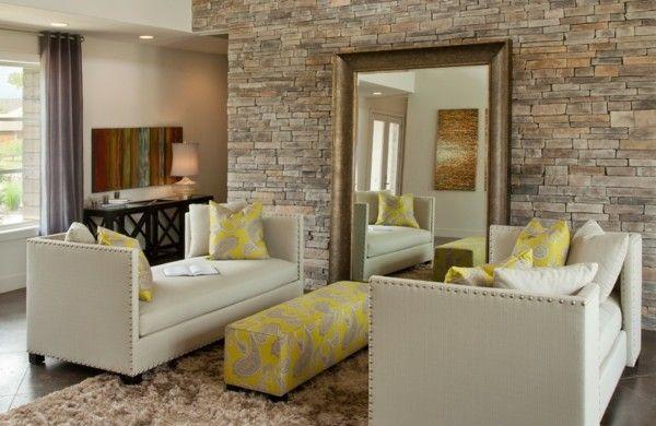 Die besten 25 steinwand wohnzimmer ideen auf pinterest for Wohneinrichtung ideen wohnzimmer