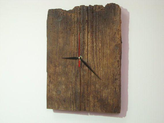 Meraviglioso e originale orologio da parete in legno di ClockTop