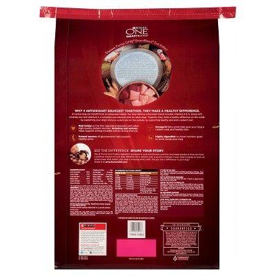 Purina One SmartBlend True Instinct Adult Premium Real Turkey & Venison Dry Dog Food - 27.5lb bag, Burmese Beige