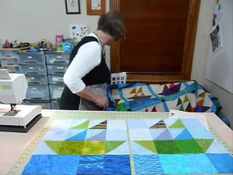 """How to make a Sail Boat block using 5"""" squares - Quilting Tips & Techniques 089"""
