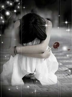 Sad Love Wallpaper Of Girl : Sad Girls Alone sad Pinterest cartoon, Wallpapers and In love