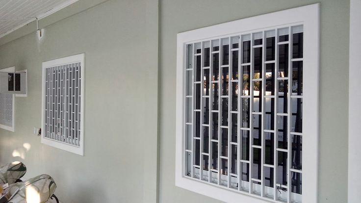 desenho de grade de aluminio para janelas - Pesquisa Google