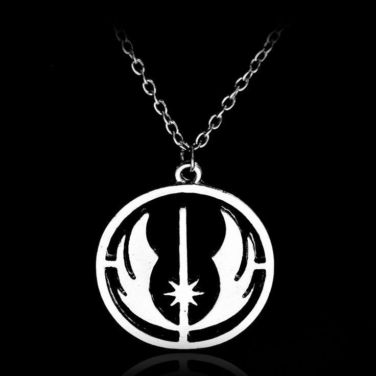 Star Wars Round Wings Emblem Necklace