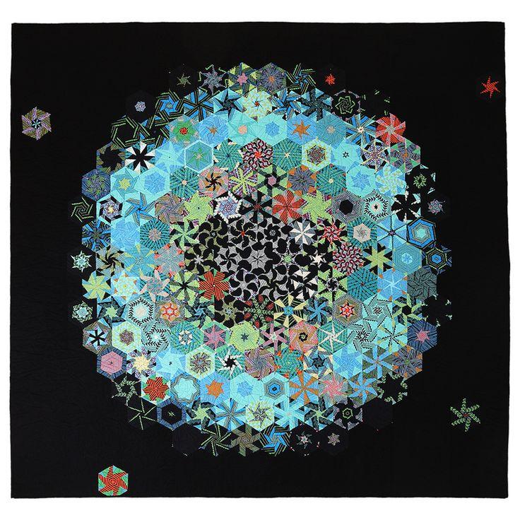 37 besten one block wonder quilts bilder auf pinterest sechsecke kaleidoskopsteppdecke und. Black Bedroom Furniture Sets. Home Design Ideas