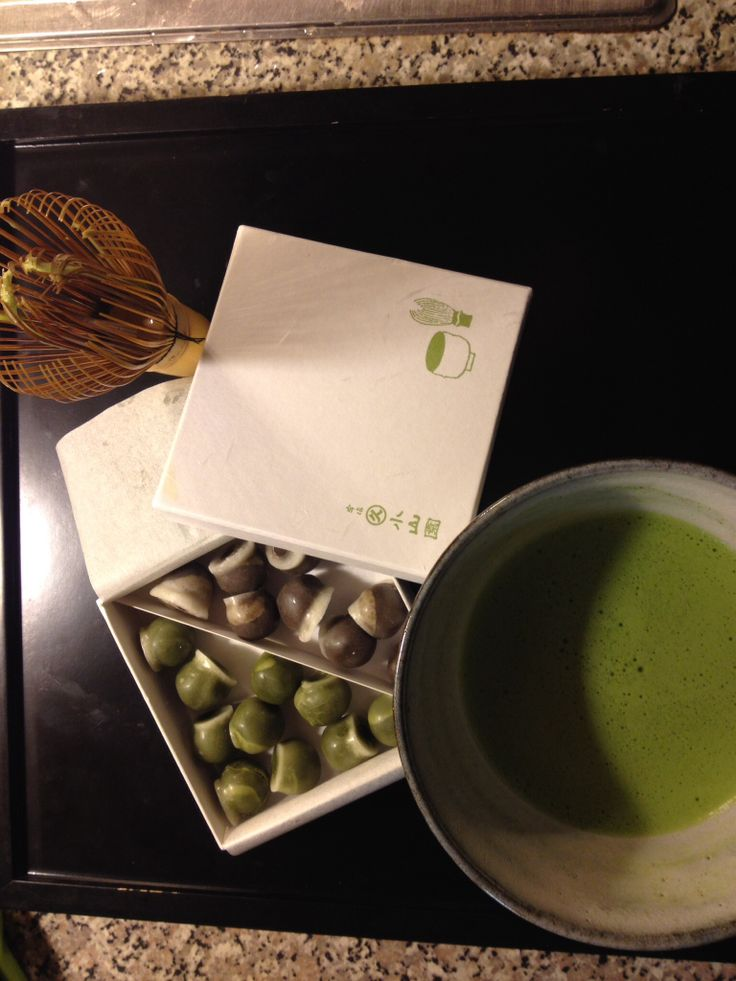 Matcha and Sweets!