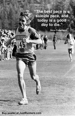Today is a good day to die #running