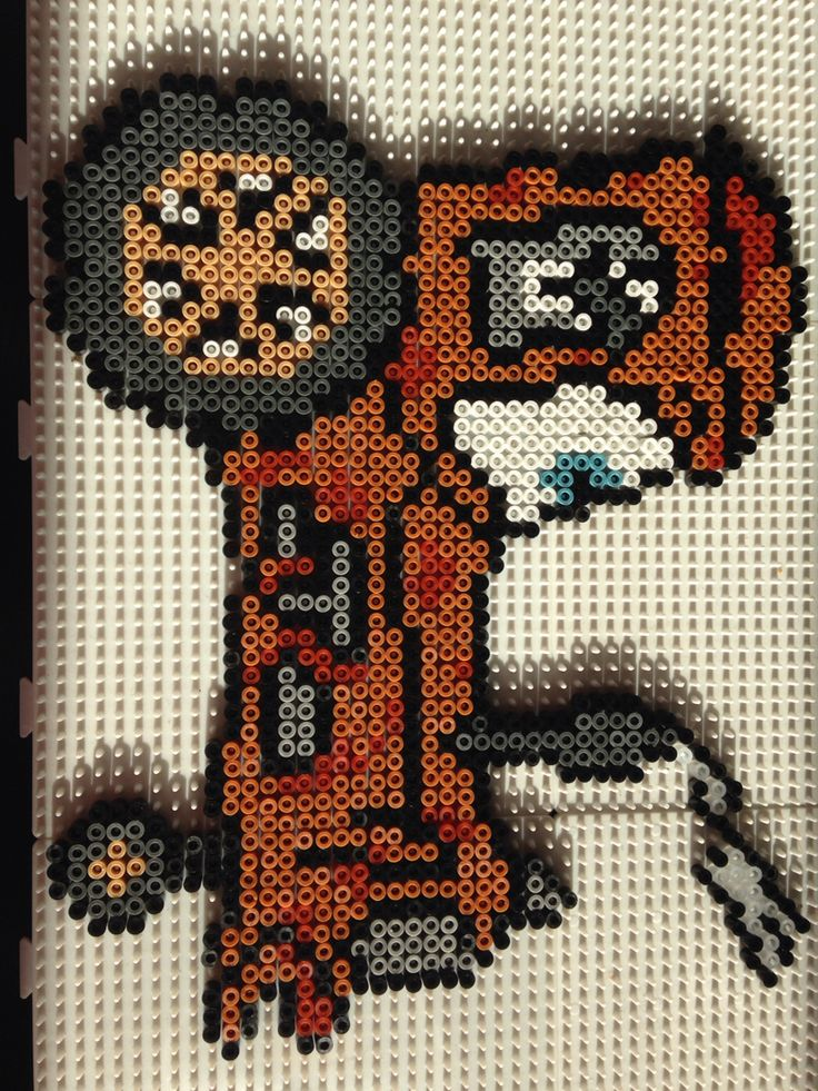 Cars Tractor/Cow Ligthning McQueen Disney Pixar Cars Traktor/Ko Lynet Hama Perler Beads Made by/ Idea by Sabine Egeberg Denmark