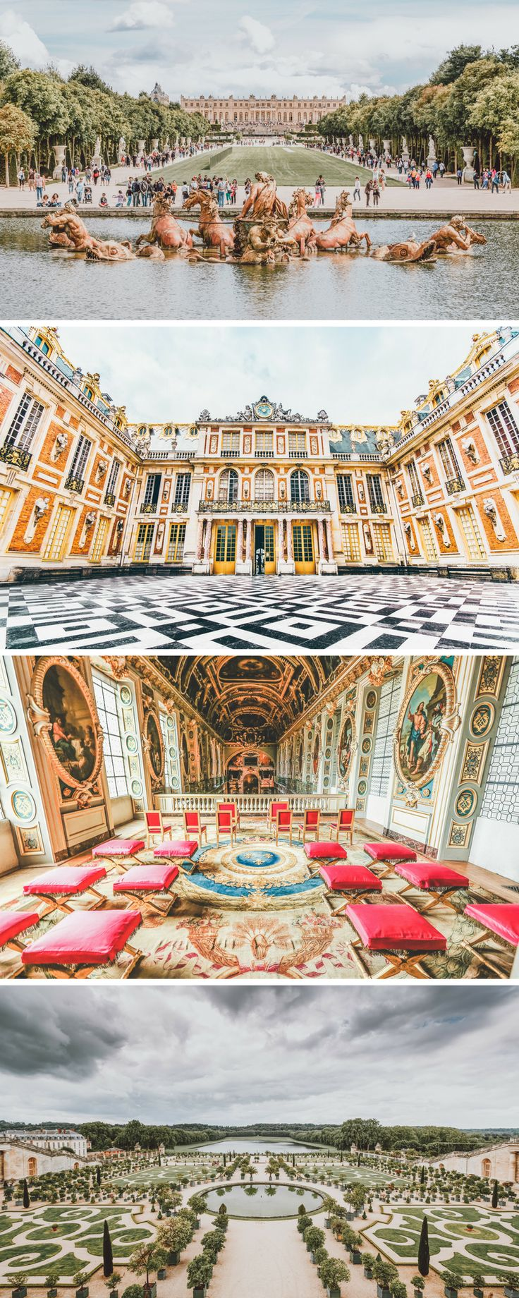 Versailles palace and gardens is a must see even if you only have 3 days to spend in Paris. 10 Things You Have to see Your First Time in Paris!  These Paris travel tips will you help as you as you explore the history, culture, food and top places to visit in Paris, France.  Avenlylanetravel.com | #paris #france #europe #travel #photography #bucketlist #avenlylanetravel