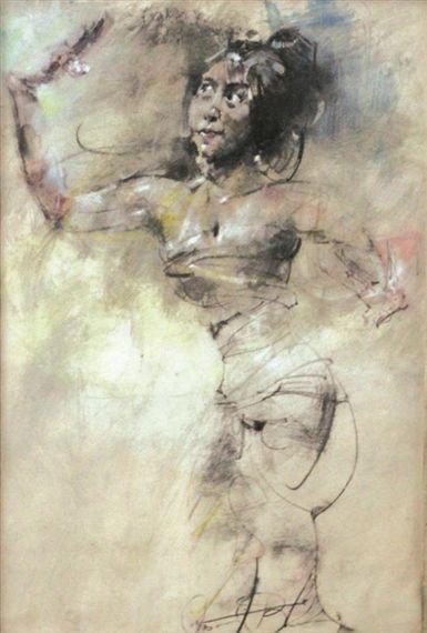 Antonio Blanco - Penari Bali #2