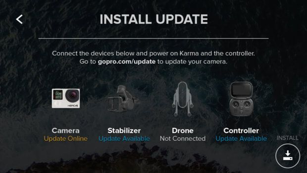 Das Update auf GoPro Karma Drohne v2.00 vom 28. September 2017 bringt neue Funktionen, Aufnahmemodi sowie die Kompatibilität mit der GoPro HERO 6 Black Action-Cam mit. Bildquelle: GoPro.com