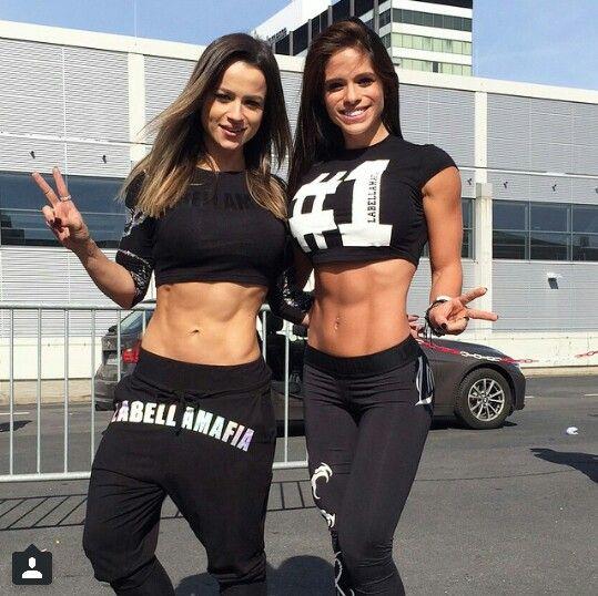 Female Form #StrongIsBeautiful #Motivation #WomenLift2 Michelle Lewin Alice Matos