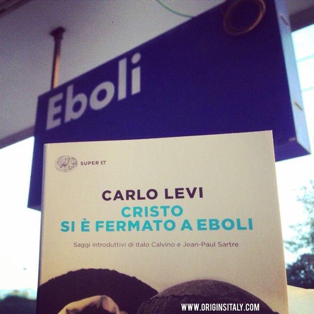 Stopped at Eboli today! It was definitely on my bucket list! ORIGINS ITALY www.originsitaly.com #originsitaly #italy #italia #italie #italian #eboli #levi #carlolevi #trenitalia #train #travel #campagna #salerno #campania #italianamerican #genealogy #classic #nostalgia #books #reading #reader #famous #literature #carlolevi #levi #authors #destinations