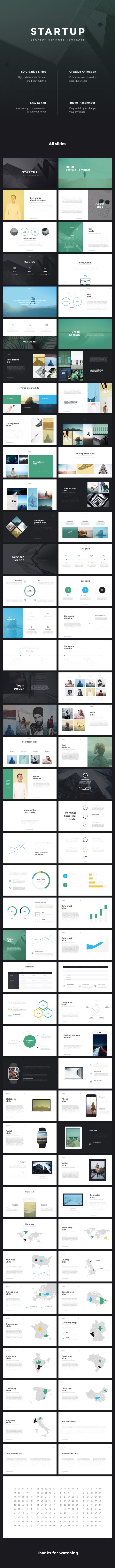 Startup Business Keynote Template - Business Keynote Templates
