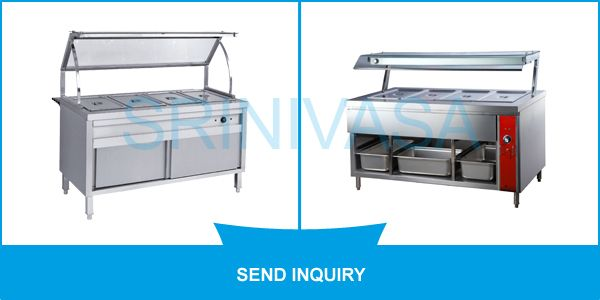 #SME This is basically kitchen equipment that is used to heat food items gently and gradually to fixed temperatures and to keep items warm over a period of time. Constructed from #stainlesssteels, this #BainMarie is provided with separate sections for keeping different food items. Available in different sizes, these equipment are offered to our clients at reasonable prices.