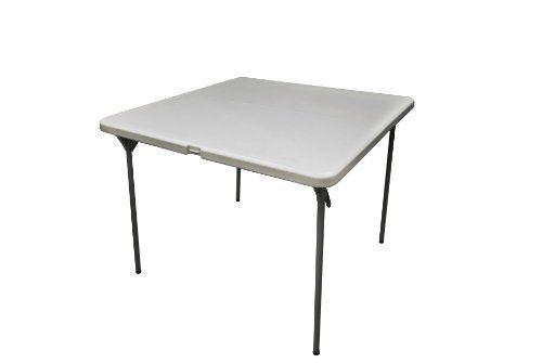 Coleman C11tm289 Square Blow Molded Plastic Folding Table