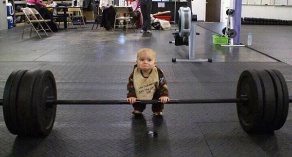 Weightlifting Ambition - If he can do it so can I :)