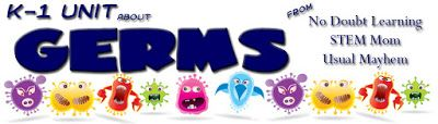 K-1 Germ Unit from No Doubt Learning, STEM Mom and The Usual Mayhem