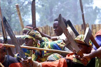 rwanda genocide hutu machete - Google Search