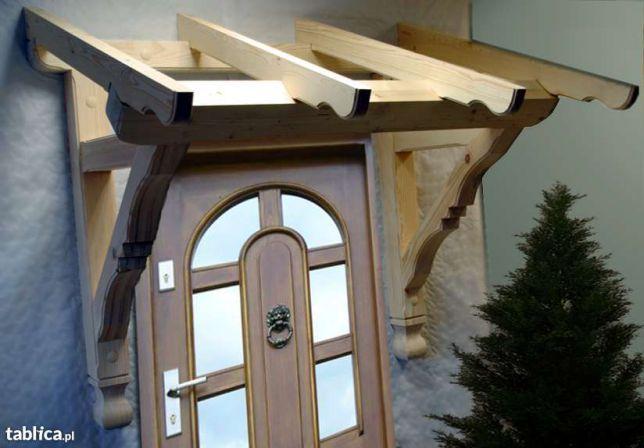Daszek nad drzwi jednospadowy typ II Krotoszyn - image 1