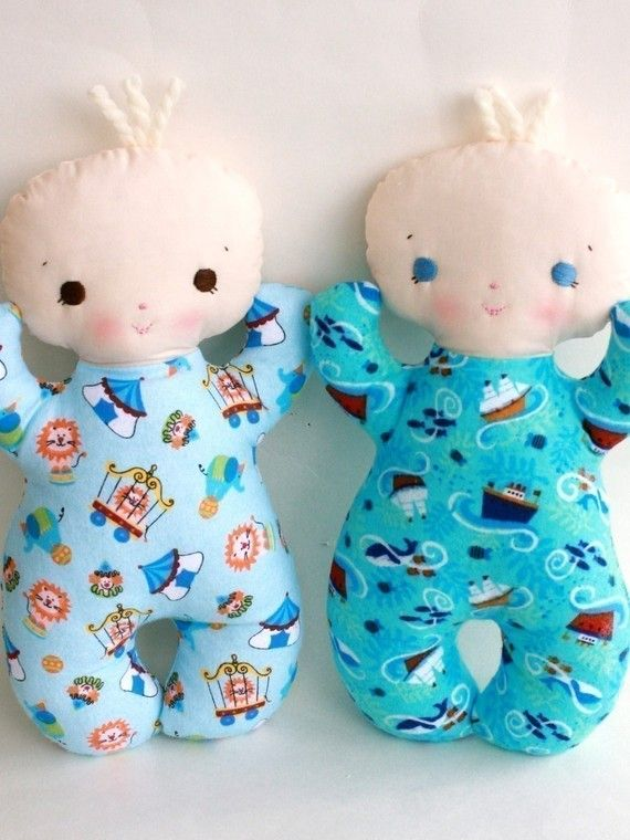 SALE Butterbean PDF Doll Pattern by bitofwhimsyprims on Etsy
