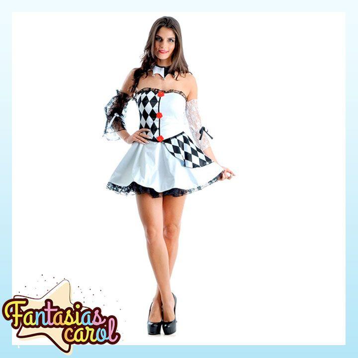 Chegou novidade na FantasiasCarol!  Fantasia Palhaço Pierrot Feminino Adulto Luxo Para Carnaval por apenas...  Confira -> http://www.fantasiascarol.com.br/fantasia-palhaco-pierrot-feminino-adulto-luxo-para-carnaval-p1211/  #Fantasiascarol #fantasiaparaadultos #Carnaval #pierrot