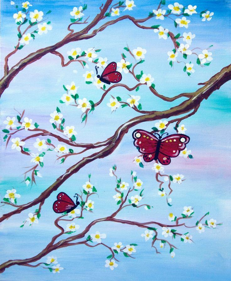 435 best Canvas paintings images on Pinterest | Canvas ...