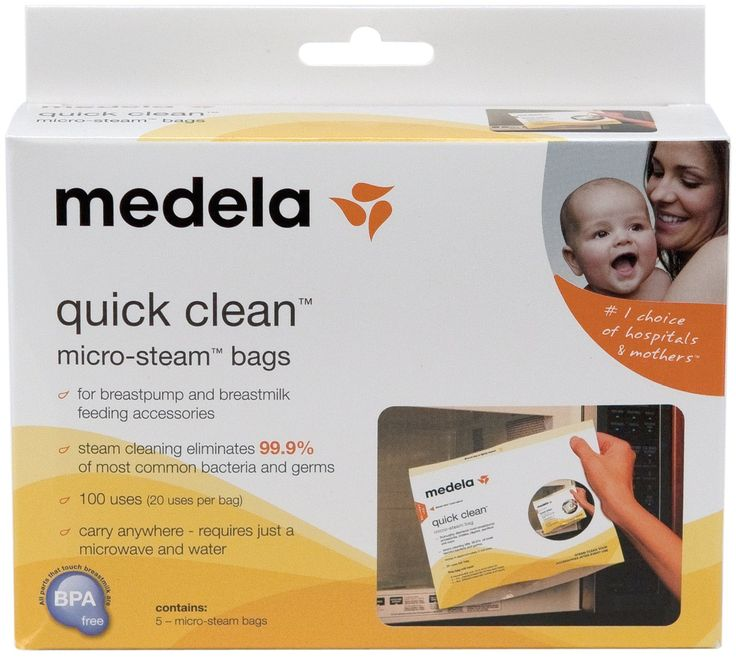 medela quick clean micro steam bags instructions