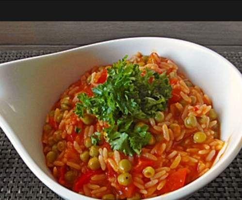 Rezept Djuvec-Reis (lecker und wenig Aufwand) von Monser - Rezept der Kategorie Hauptgerichte mit Gemüse