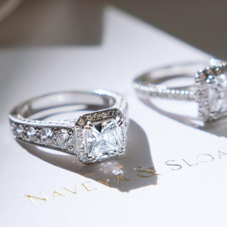 Naveya & Sloane - The Mira Setting    Engagement Ring Auckland