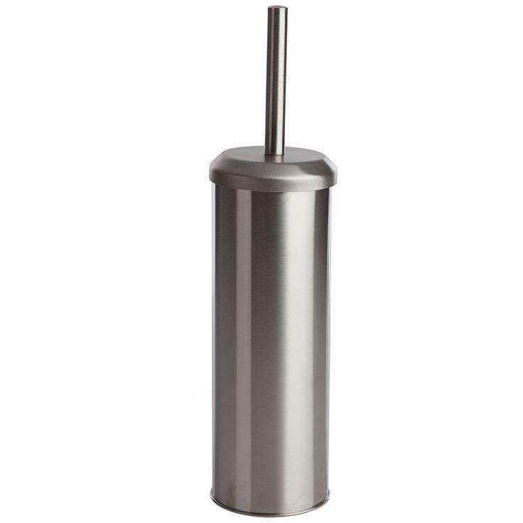 Sabichi Stainless Steel Toilet Brush – Silver