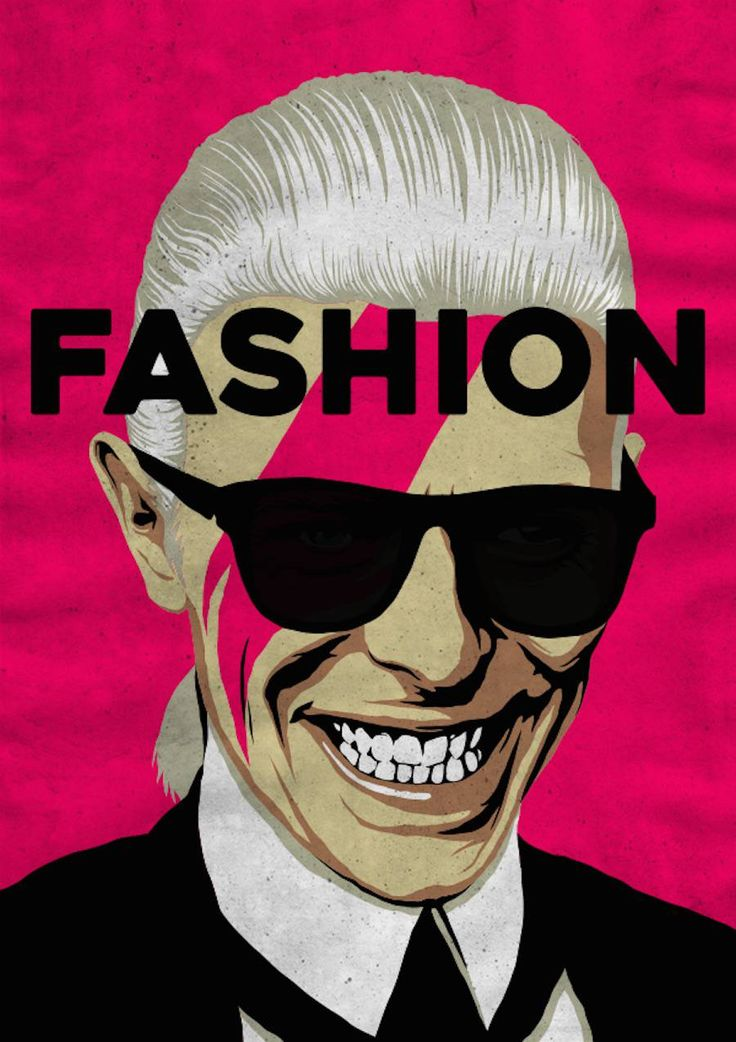 FASHION - David Bowie Pop Culture Posters