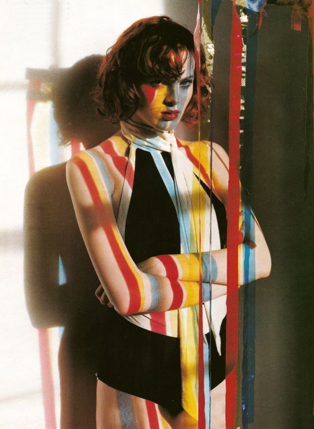 "Tim Walker. Editorial: ""Light and Shade"" Vogue IT 2003. Model: Karen Elson."