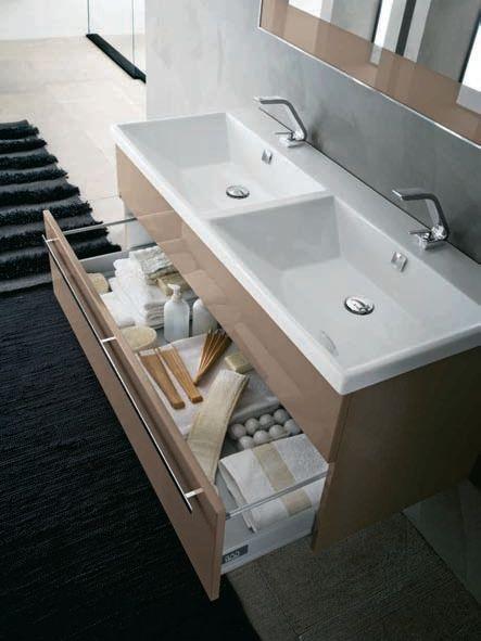 Bathroom furniture set AB 909 Programma Corona Collection by RAB Arredobagno